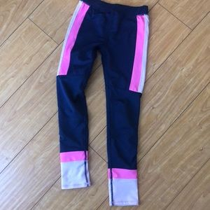 Cotton On size 8 Navy color block leggings